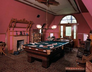 MARK TWAIN BILLIARD ROOM