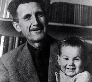 orwell with son richard