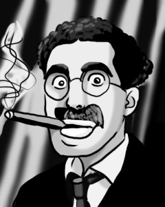 Groucho_Marx_by_ChazieBaka