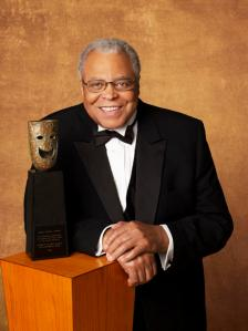 James Earl Jones with Statuette