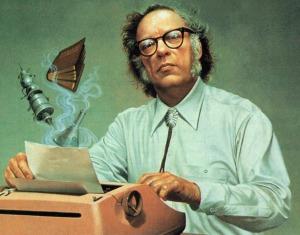 Isaac-Asimov painting