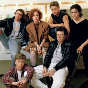 johnhughes with cast